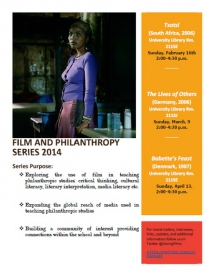 Film and Philanthropy Discussion Series