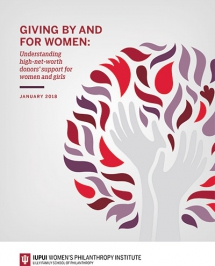 Wealthy female donors who support women and girls embrace risk-taking in their philanthropy, study finds