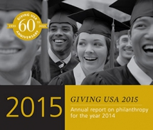 Giving USA: Americans Donated an Estimated $358.38 Billion to Charity in 2014; Highest Total in Report