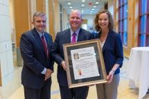 Robert Grimm, Jr. Receives Distinguished Alumni Award
