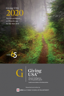 Giving USA 2020: Charitable giving showed solid growth, climbing to $449.64 billion in 2019, one of the highest years for giving on record