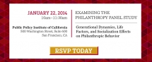 Examining The Philanthropy Panel Study