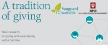 Parents, Grandparents Influence Charitable Giving and Volunteering of Children