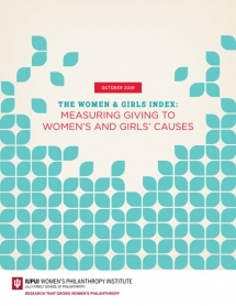Women's Philanthropy Institute Launches First Index to Systematically Measure Total Giving to Women's and Girls' Causes