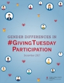Gender matters on Giving Tuesday: Women make up majority of donors
