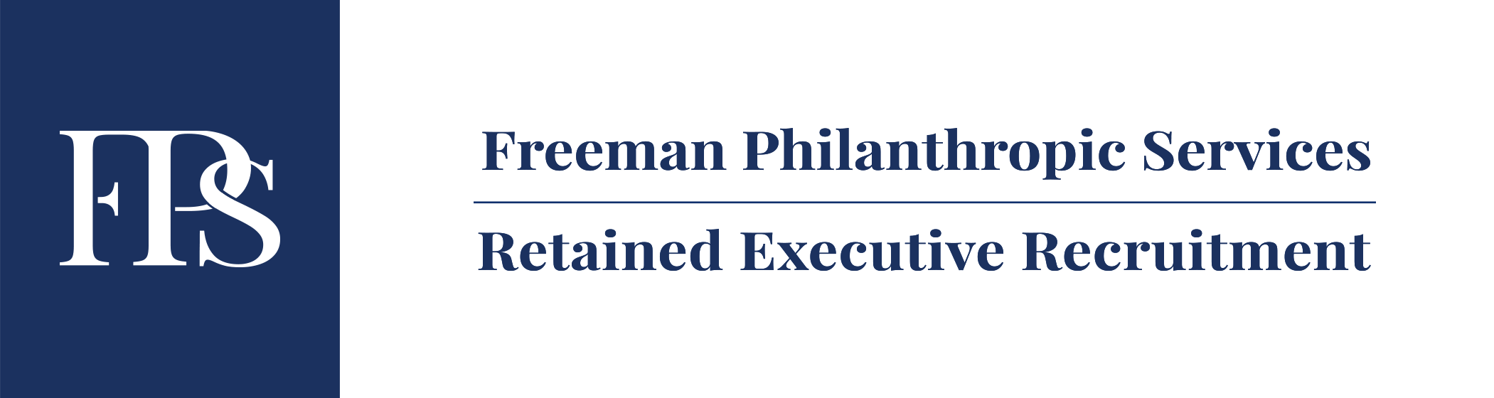 Freeman Philanthropic Services logo