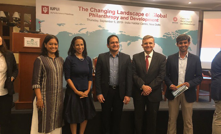 The Changing Landscape of Global Philanthropy Development-India