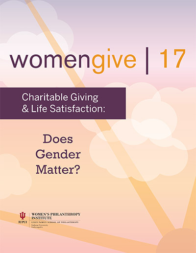 Women Give 2017 cover