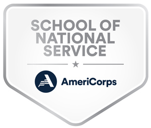 AmeriCorps School of National Service badge