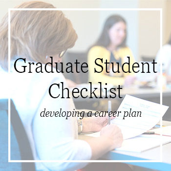 Career and Leadership Preparedness: Graduate Checklist