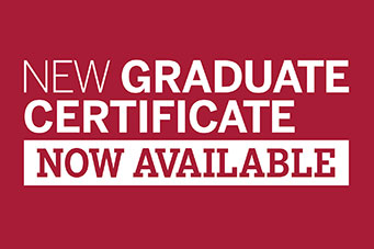 New graduate certificate now available