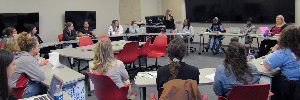 Ethics u0026 Values of Philanthropy class Lilly