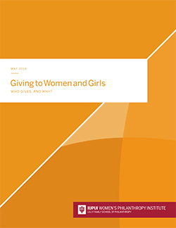 Giving to Women and Girls research