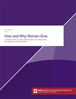 Women's Philanthropy Institute Research