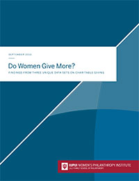 Do Women Give More report cover
