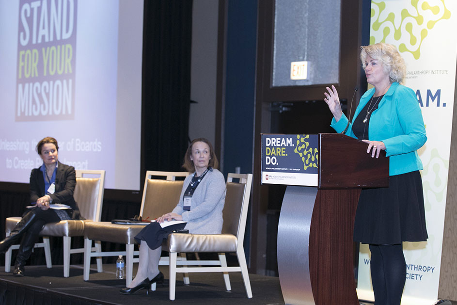 DREAM. DARE. DO. Symposium: Women's Philanthropy Institute