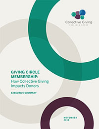 Giving Circle Membership report cover