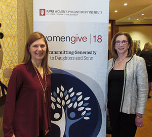 Kathleen Loehr and Debra Mesch: Women Give 18