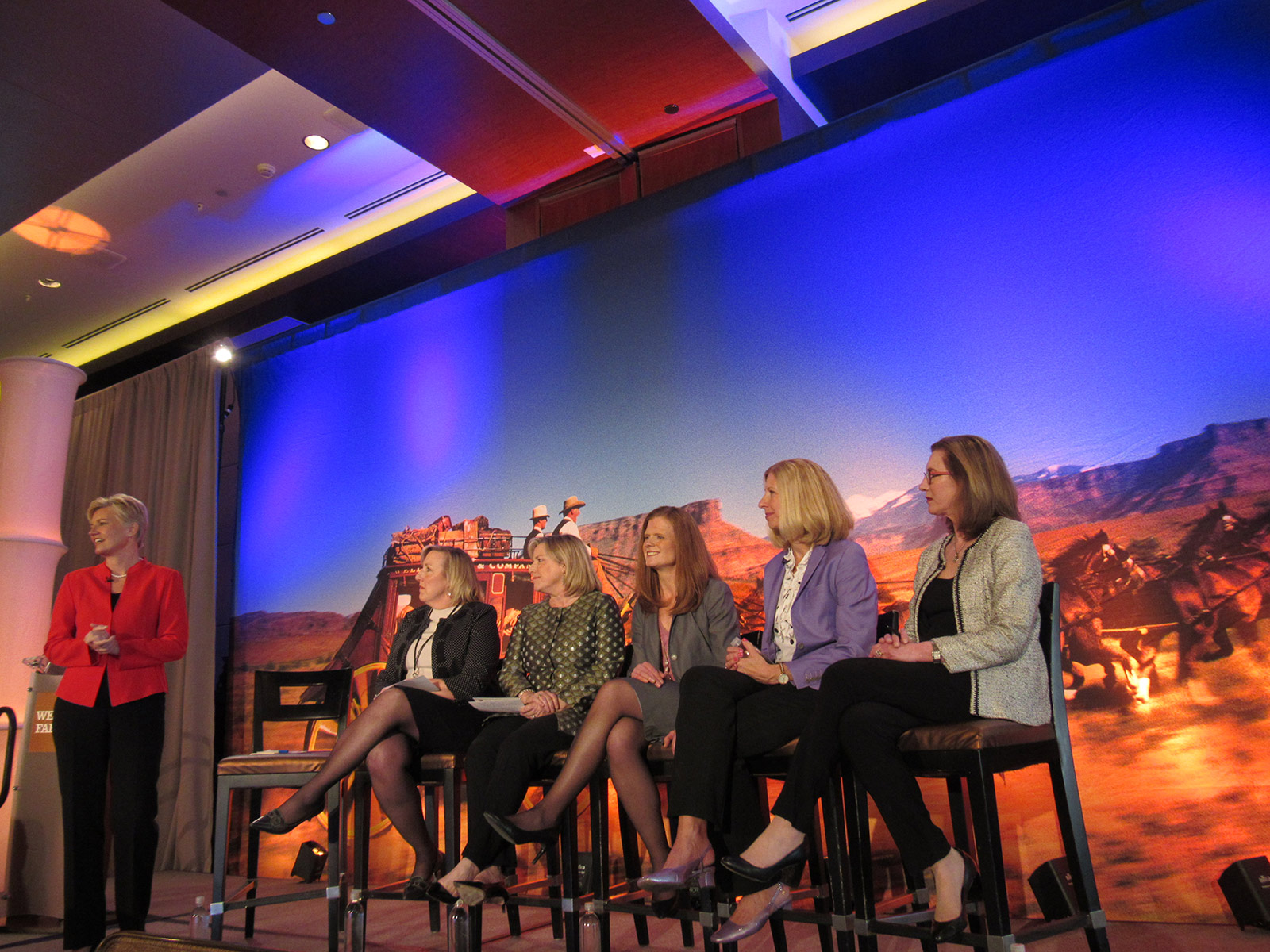 Wells Fargo National Philanthropic Services Director Beth Renner and panelists