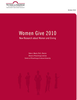 Women Give 2010 cover