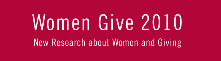 Women Give 2010 logo