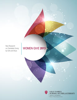Women Give 2013 cover