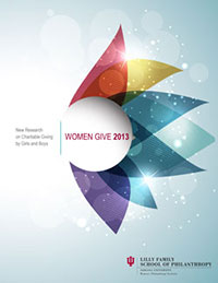 Women Give 2013 report cover