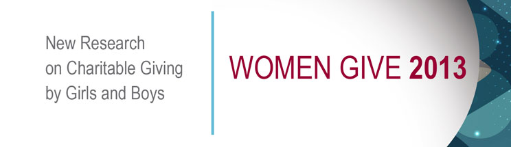 Women Give 2013 logo