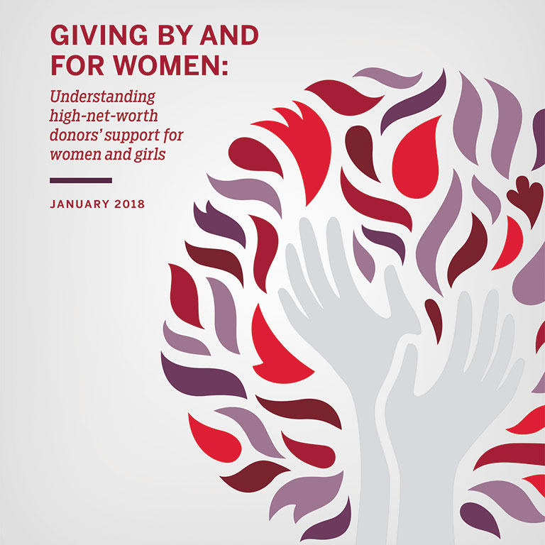Giving by and for women report cover