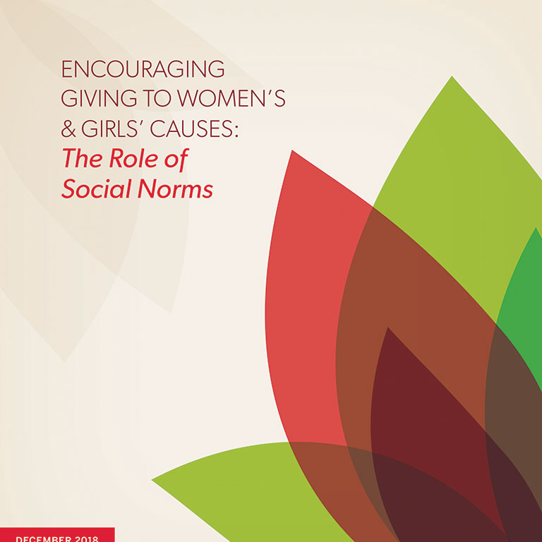 Social norms report cover