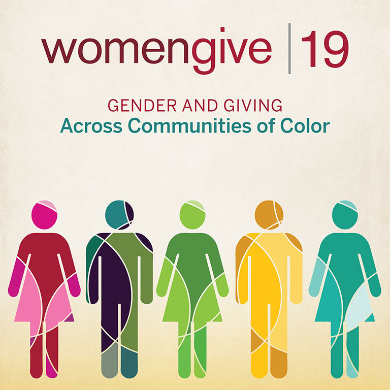 Women Give 2019 report cover