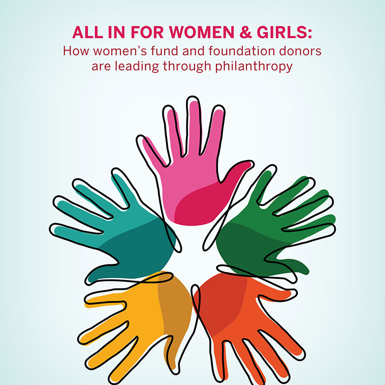 All In for Women and Girls report cover