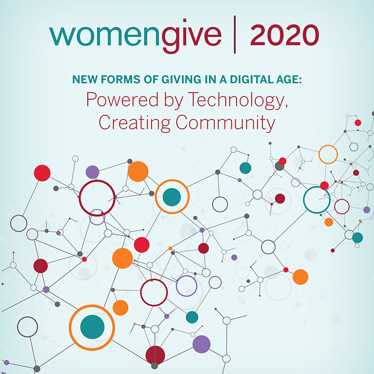 WomenGive 2020 report cover