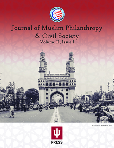 Front Cover of Journal of Muslim Philanthropy and Civil Society