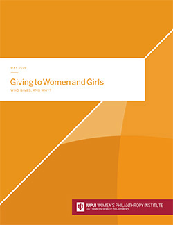 Women's Philanthropy Institute: Giving to Women and Girls