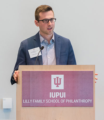 Indiana University Lilly Family School of Philanthropy: Joshua Moore