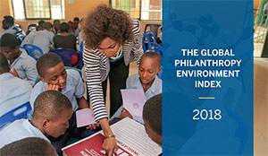 Global Philanthropy Environment Index report cover