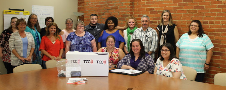 TCC Gives group photo