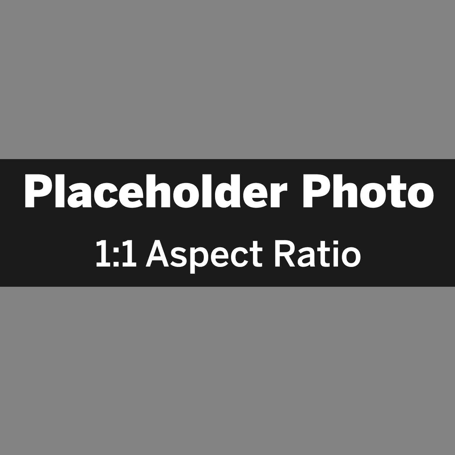 1:1 aspect ratio placeholder photo