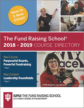 The Fund Raising School 2018 Course Directory