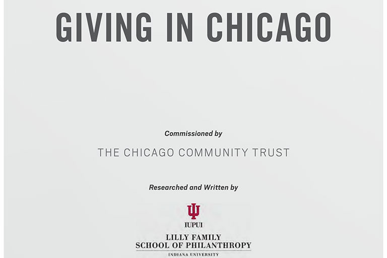 Giving in Chicago report cover